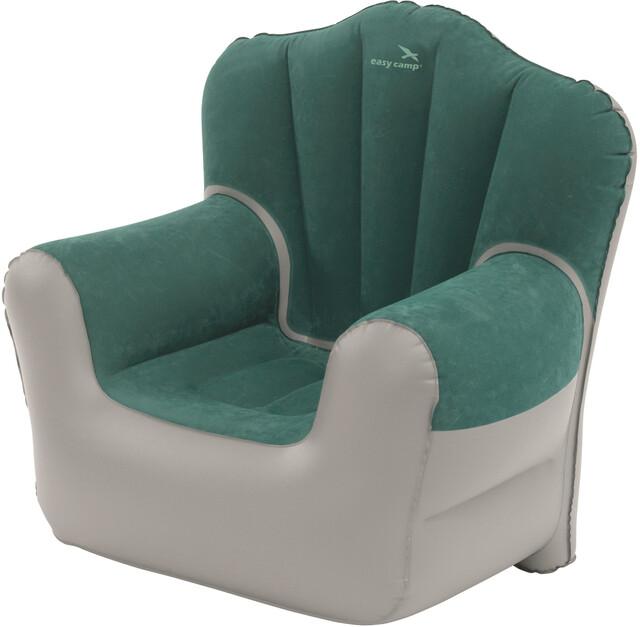 Easy camp comfy sgabello pieghevole grigio verde su addnature